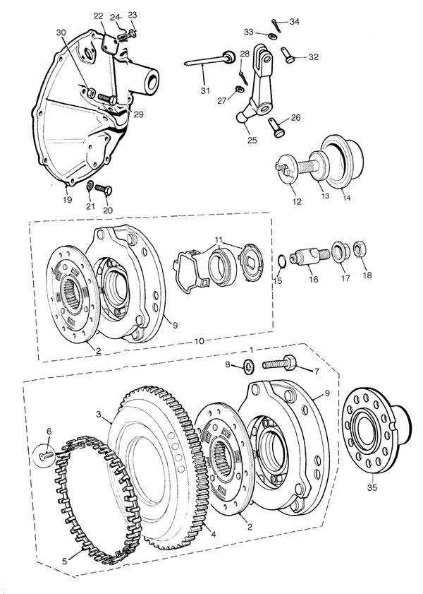 Flywheel and Clutch - Verto