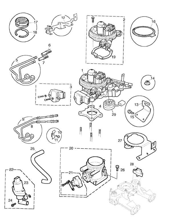 Throttle Body SPI and MPI