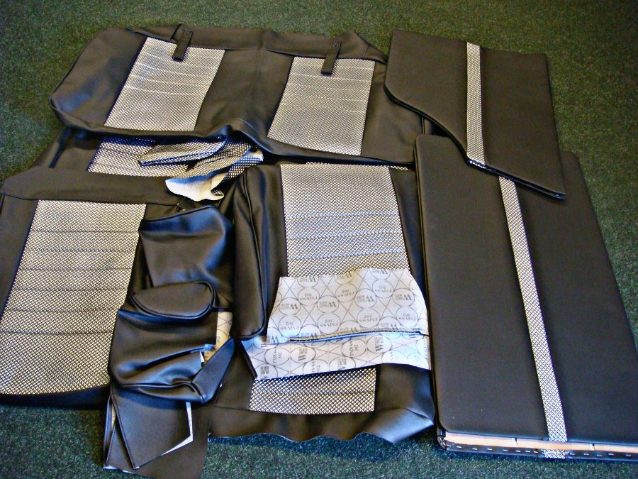 Mini Seat Set Covers For 1993 On Wrap Round Type Inc Door