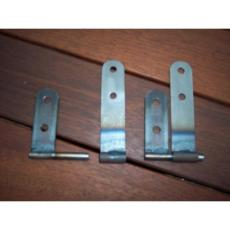 HINGES FOR FIBRE GLASS FLIP FRONT PAIR
