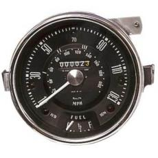 GAUGE COOPER S SPEEDO (Black) 130MPH