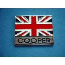 BADGE UNION JACK WITH WORDS COOPER