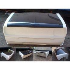 Fibre Glass 2 Piece Clubman Front