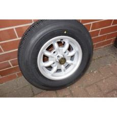 Minilight 4.5 x 10 With Falken SN807 Tyres Fitted Set 4