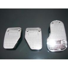 PEDAL SET 3 PIECE IN CHROME