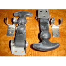 Hooks Rubber Large Pair