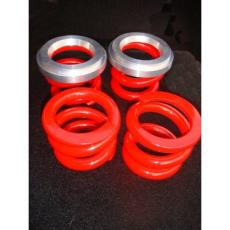 Mini Coil Spring Conversion (Best Road Ride) Set 4 Made In Sheffield