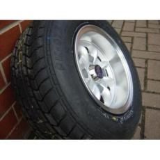 Minilights 10 X 6 With Falcon Tyres Fitted Set (4)