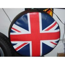 WHEEL COVER UNION JACK