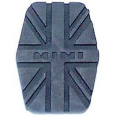 PEDAL COVER UNION JACK BLACK