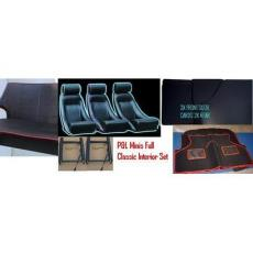 Seat PL Clasic Interior Set *All Black* 1970 On
