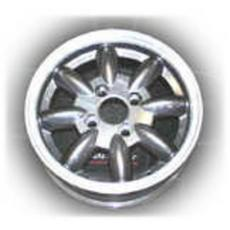 5x13 MINATOR WHEEL ANTHRACITE WITH DIAMOND CUT EDGE
