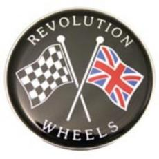 Revolution Wheel Trims Chrome