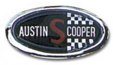 Badge Cooper S Bonnet Badge Mk2