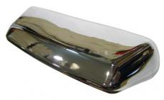 NUMBER PLATE LIGHT CHROME ON BRASS