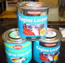 Engine Lacquer Black 250ml In Tin