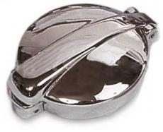 Monza Fuel Cap Chrome Inc Adapter Collar