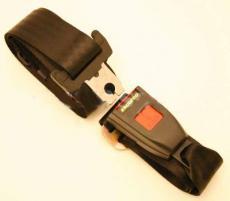 Seat Belt Static Rear In Black