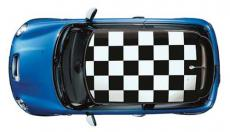 CHEQUERED ROOF KIT NEW MINI (WHITE)