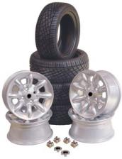 Mini Alloy Wheels Cooper Sports Type 13x6 With 175-50-13 Tyres Set 4