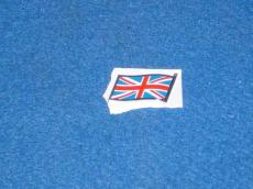 BADGE union jack SMALL PLASTIC STICK ON