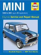 HAYNES MANUEL MINI UP TO FROM 69-01