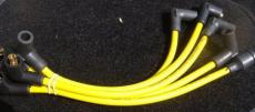 Plug Leads High Performance 8mm Silicon In **Yellow**