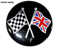 Badge 42MM Racing Self Adeshieve