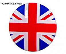Badge 42MM Union Jack Self Adeshieve