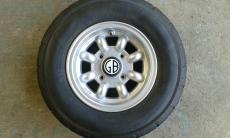 GB Alloy Wheels 10 x 5 With Falcon 165-70-10 SET 4