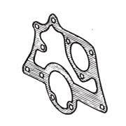 GASKET ENGINE FRONT PLATE A PLUS
